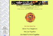 Alfred Station Fire Company Web Designer - David Williams