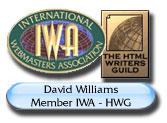 David Williams IWA - HWG Member since 2002