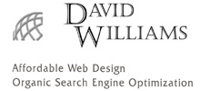 Affordable Web Design - Organic Search Engine Optimization by Web Designer David Williams Alfred, New York (NY)