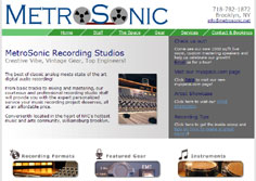 New York, NY | MetroSonic Recording Studio