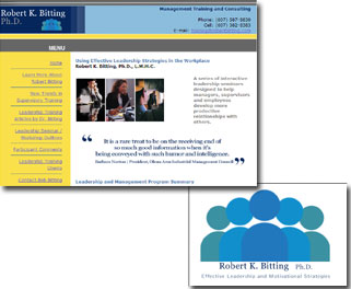 Leadership Training, Management Training, Seminars, Articles & Workshops by Bob Bitting